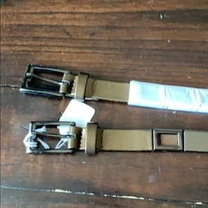Brand new Suzi Hoher belts